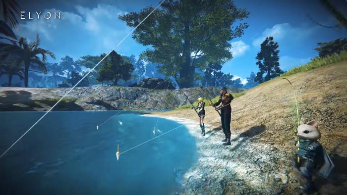 エリオン 採集 釣り